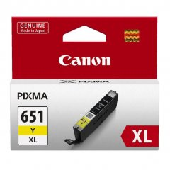 Canon CLi-651XL Yellow Ink Cartridge