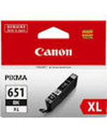 Canon-CLI-651XL-Black-Genuine Canon CLi-651XL Black Ink Cartridge (Genuine)