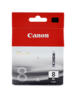 Canon CLi-8 Black Ink Cartridge (Genuine)