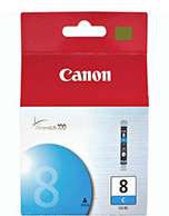 Canon-CLI-8-Cyan-Genuine Canon CLi-8 Cyan Ink Cartridge (Genuine)