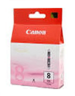 Canon-CLI-8-Photo-Magenta-Genuine Canon CLi-8 Photo Magenta Ink Cartridge (Genuine)