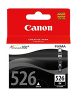 Canon-CLi-526-Photo-Black-Genuine Canon CLi-526 Photo Black Ink Cartridge (Genuine)