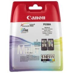 Canon PG-510 + CL-511 Ink Twin Pack