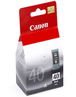 Canon PG-40 Black Ink Cartridge (Genuine)