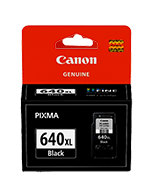 Canon PG-640XL Black Ink Cartridge (Genuine)