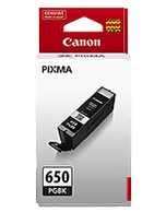 Canon PGi-650 Black Ink Cartridge (Genuine)