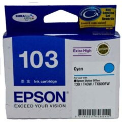 Epson 103 Cyan Ink Cartridge