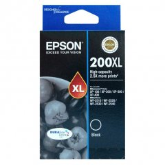 Epson 200XL Black Genuine High Yield Ink Cartridge
