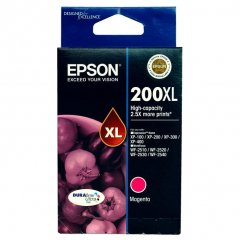 Epson 200XL Magenta Genuine High Yield Ink Cartridge