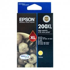 Epson 200XL Yellow Genuine High Yield Ink Cartridge