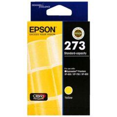 Epson 273 Yellow Genuine Ink Cartridge