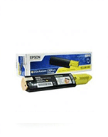 Epson-C1100-S050187-Yellow-Genuine Epson C1100 S050187 Yellow Toner Cartridge (Genuine)