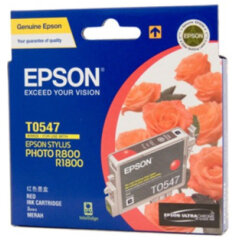 Epson T0547 Red Ink Cartridge