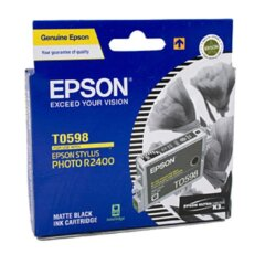 Epson T0598 Matt Black Ink Cartridge