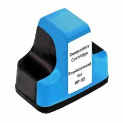 HP 02 Cyan Ink Cartridge