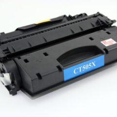 Compatible HP CE505X Black Toner Cartridge