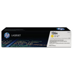 HP 126A Yellow Toner Cartridge