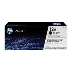 HP 12A Black Toner Cartridge