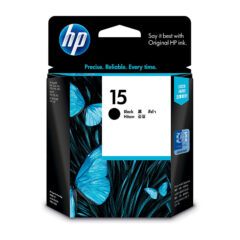 HP 15 Genuine Black Ink Cartridge