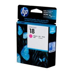 HP 18 Magenta Colour Ink Cartridge