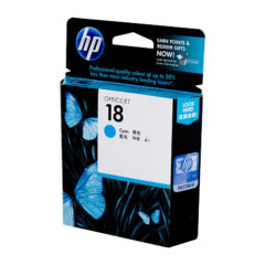 HP 18 Cyan Colour Ink Cartridge