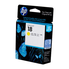 HP 18 Yellow Colour Ink Cartridge