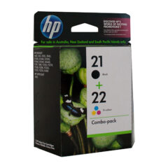 HP 21 & 22 Combo Pack Ink Cartridges