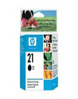 HP-21-C9351AA-Black-Genuine HP 21 C9351AA Black Ink Cartridge (Genuine)