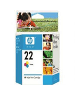 HP 22 C9352AA Colour Ink Cartridge (Genuine)