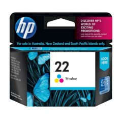HP 22 Tri-Colour Ink Cartridge