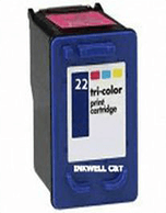 HP-22-XL-C9352AA-Colour-Compatible HP 22XL C9352CA Tri-Colour Ink Cartridge  (Compatible)