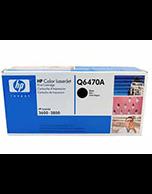 HP 501A Q6470A Black Toner Cartridge (Genuine)