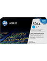 HP-504A-CE251A-Cyan-Genuine HP 504A CE251A Cyan Toner Cartridge (Genuine)