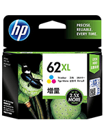 HP 62XL C2P07AA Colour Ink Cartridge (Genuine)