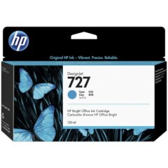 HP 727 Cyan Ink Cartridge