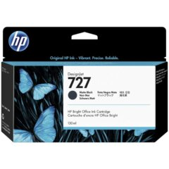 HP 727 Matte Black Ink Cartridge