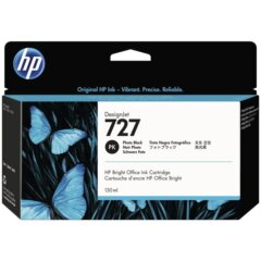 HP 727 Photo Black Ink Cartridge