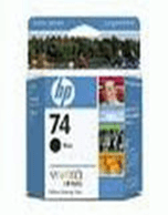 HP 74 CB335WA Black Ink Cartridge (Genuine)