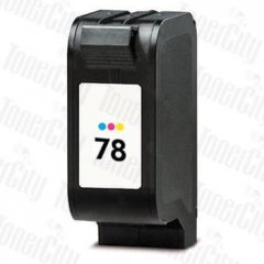 HP 78 C6578DA Tri-Colour Compatible Ink Cartridge