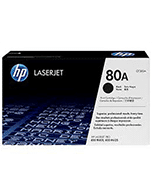 HP-80A-CF280A-Genuine HP 80A CF280A Black Toner Cartridge (Genuine)