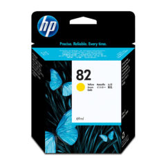 HP 82 Yellow Colour Ink Cartridge