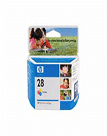 HP-C8728AA-Genuine HP 28 C8728AA Tri-Colour Ink Cartridge  (Genuine)