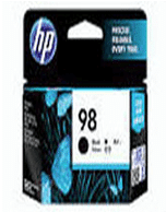 HP-C9364WA-Genuine HP 98 C9364WA Black Ink Cartridge (Genuine)