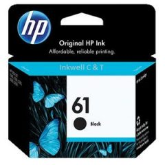 HP 61 CH561WA Black Ink Cartridge (Genuine)