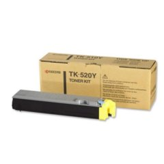 Kyocera TK-520Y Yellow Toner Cartridge