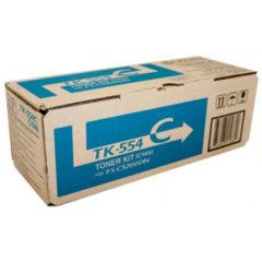Kyocera TK-554C Cyan Toner Cartridge
