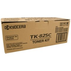 Kyocera TK-825C Cyan Toner Cartridge