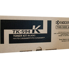 Kyocera TK-594K Black Genuine Toner Cartridge