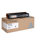 Lanier-SPC222SF-Cyan-Genuine Ricoh Lanier SPC222SF Cyan 406060 Toner Cartridge (Genuine)