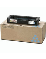Lanier-SPC242SF-Cyan-Genuine Ricoh Lanier SPC242SF Cyan 406484 Toner Cartridge (Genuine)